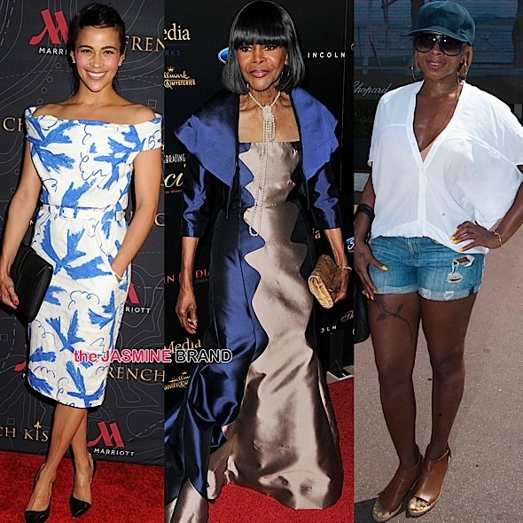 Paula Patton, Cicely Tyson, Mary J Blige