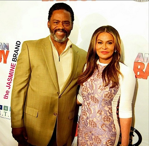 richard lawson-tina knowles-movie premiere-the jasmine brand
