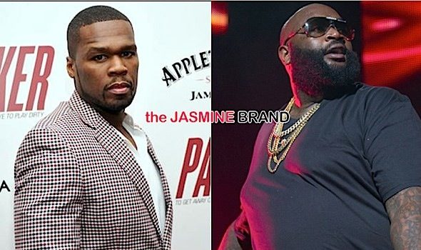 (EXCLUSIVE) Rick Ross Claims 50 Cent's $2 Million Lawsuit Is Revenge Over Baby Mama
