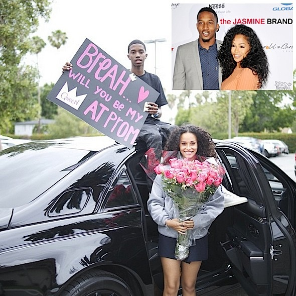 tae heckard pregnant-christina combs promposal-the jasmine brand