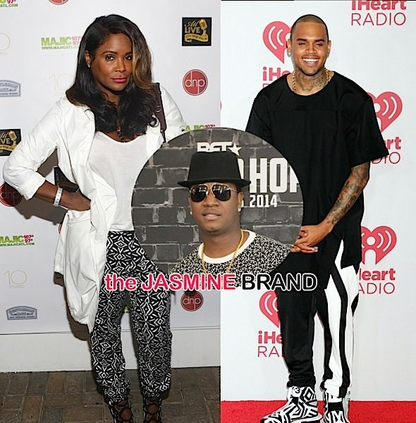 Chris Brown Tweets 'F*ck Your Side', Tameka Raymond Annoyed By Usher Diss Song + Yung Joc Arrested