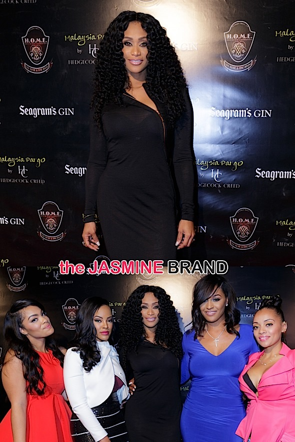 Malaysia Pargo's Bedding Collection by Hedgecock Creed Beverly Hills Launch Party - Arrivals
