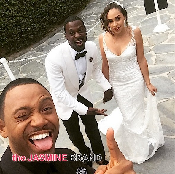 terrence j-lance gross gets married-the jasmine brand