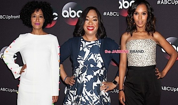 ABC Upfront Presentation: Kerry Washington, Tracee Ellis Ross, Shonda Rhimes, Anthony Anderson, Jesse Williams, Aja Naomi King & More Attend [Photos]