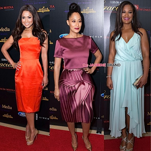 Tracey Edmonds, Tracee Ellis Ross, Laila Ali