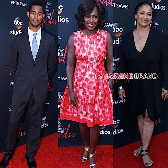 Viola Davis, Debbie Allen, Alfred Enoch, Billy Brown Attend 'How To Get Away With Murder' ATAS Event [Photos]