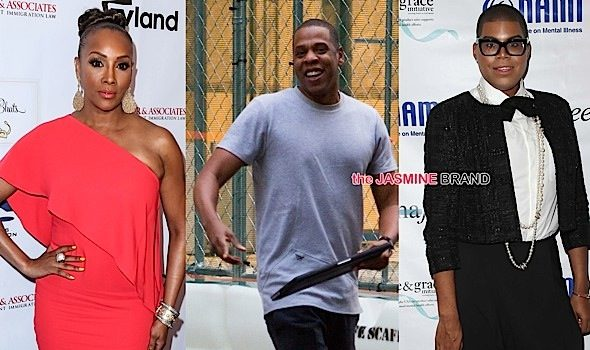Celebrity Stalking: Jay Z, Vivica Fox, Nas, Tami Roman, Brandy, Stevie Wonder, Viola Davis, EJ Johnson [Photos]