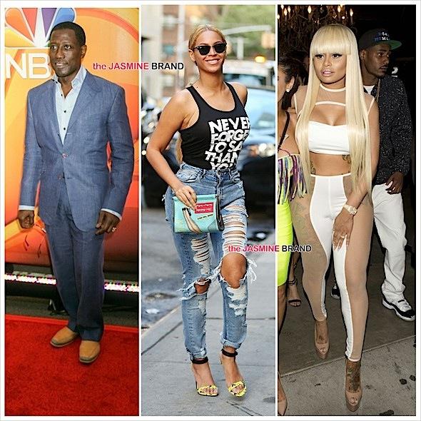 Celebrity Stalking: Beyonce, Wesley Snipes, Blac Chyna, Khloe Kardashian, Nick Cannon, Hazel E, Kendall Jenner [Photos]