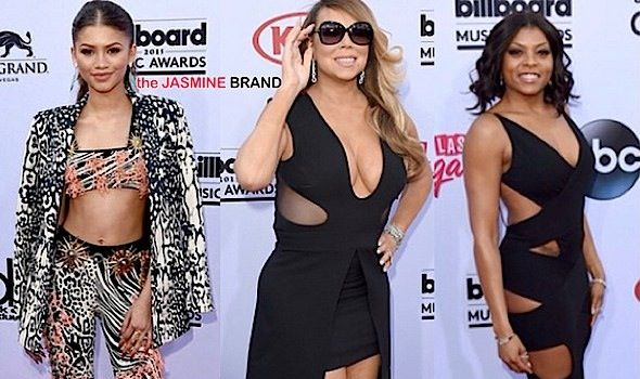 Billboard Music Awards Red Carpet Fashion: Mariah Carey, Taraji P. Henson, Zendaya, Iggy Azalea, Chris Brown, Tracee Ellis Ross, J.Lo & More! [Photos]