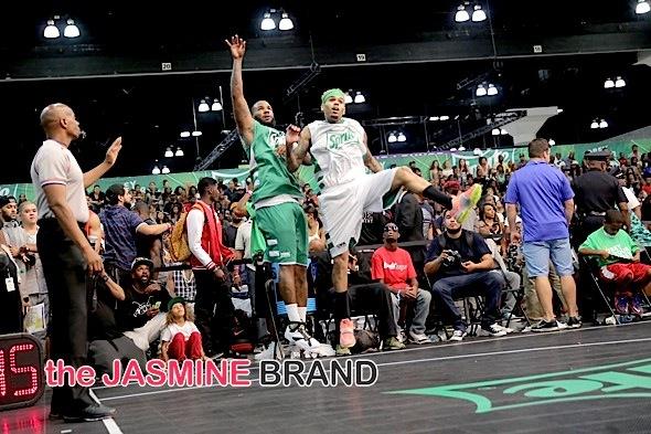 The Game, Chris Brown