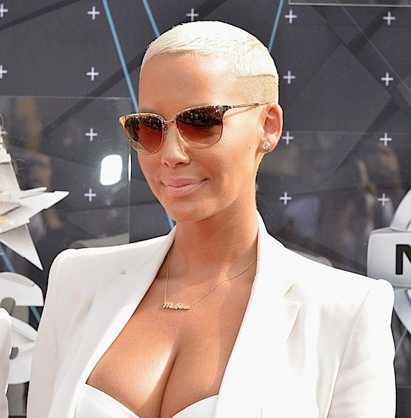 Amber Rose Denies Laughing At Child Molestation Survivor [VIDEO]