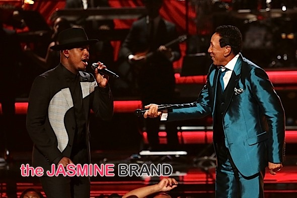 NeYo, Smokey Robinson at the BET Awards
