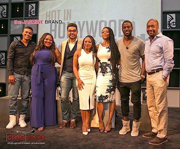 Naturi Naughton, Lance Gross, Yaya DaCosta, Cory Hardrict Talk 'Hot In Hollywood' [Photos]