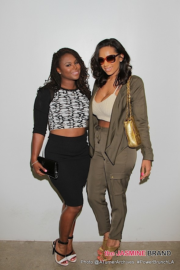 Torrei Hart and Erica Mena