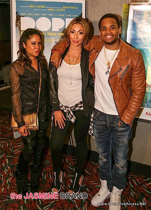 Angela Yee, Bridget Kelly, Mack Wilds