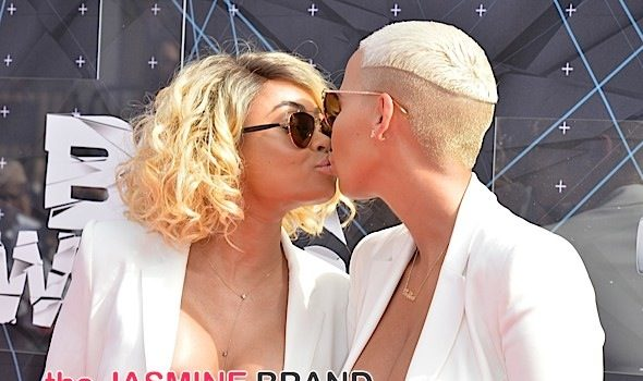 Amber Rose Kills Reality Show Rumors & Alleged Beef With Blac Chyna: She is my sis for life!