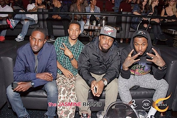 Brandon Jennings & friendss