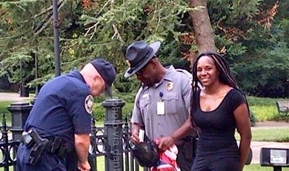 Bree Newsome Speaks Out After Being Jailed For Removing Confederate Flag: Black Lives Matter. This is non-negotiable.