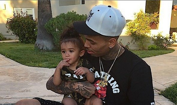 Chris Brown, Nia Guzzman & Grandmother Argue Over Royalty's Child Support On Instagram