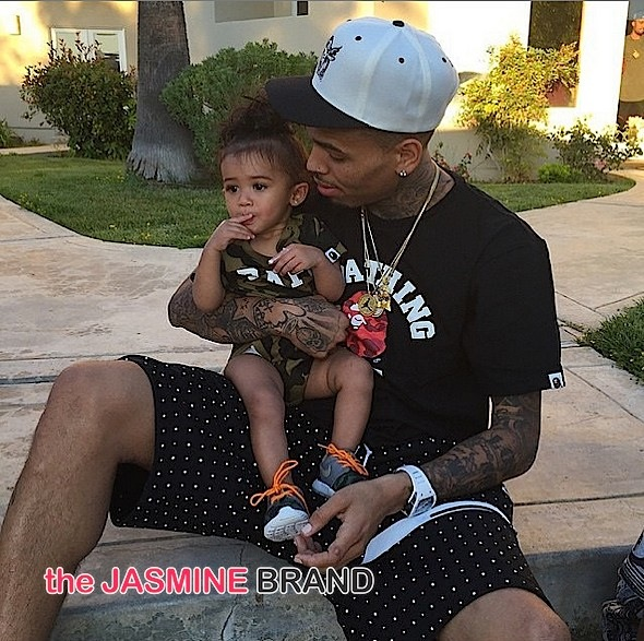 Chris Brown Daughter Royalty 1st Birthday-the jasmine brand