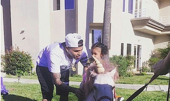 Chris Brown Throws Daughter Royalty HUGE B-Day Bash On Father's Day [Photos]