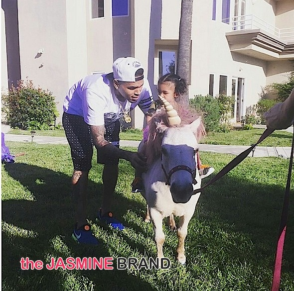 Chris Brown-Daughter Royalty 1st Birthday-the jasmine brand