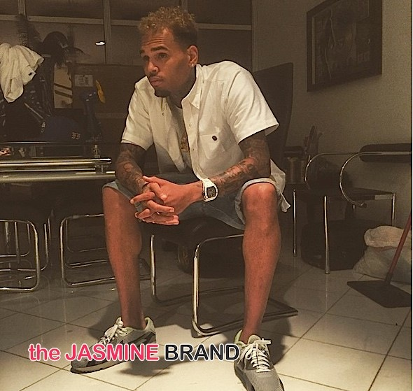 Chris Brown Denies Stomping Man's Head During Concert: We handled the situation accordingly.
