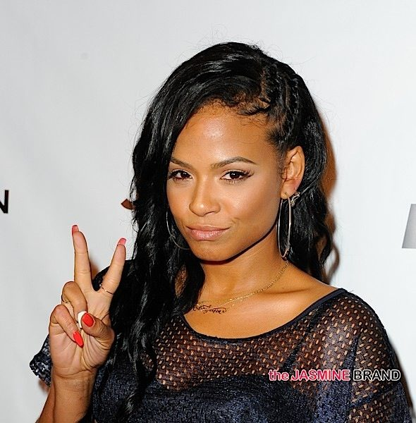 Christina Milian Allegedly Throws Drink At Bouncer & Ignites Altercation + Her Camp Responds