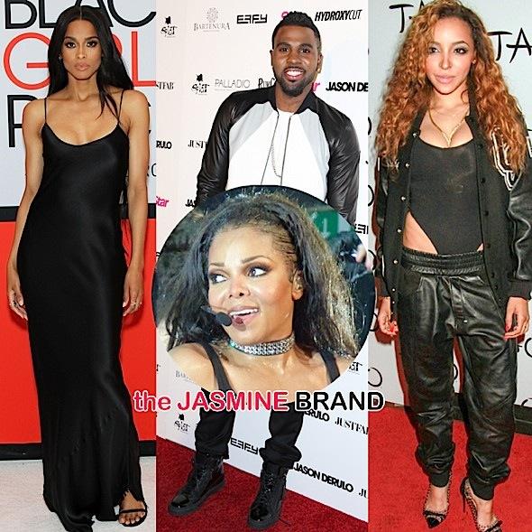 Ciara-Jason Derulo-Tinashe-Janet Jackson Tribute-the jasmine brand
