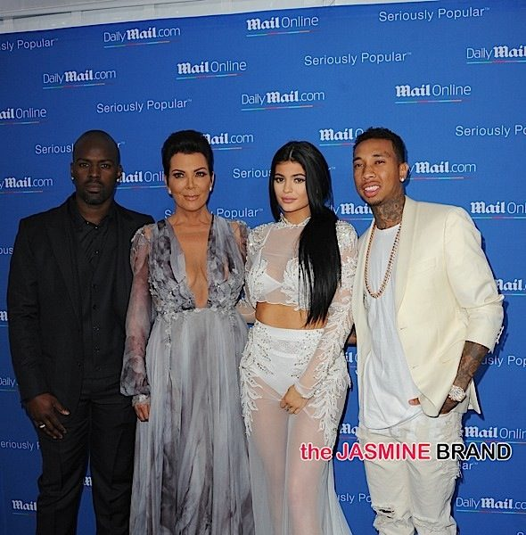 Kim Kardashian, Kylie Jenner, Tyga, Kris Jenner & Corey Gamble Attend MailOnline Yacht Party [Photos]