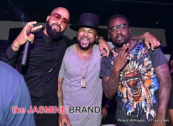Wale, The Dream, Kenny Burns Party At Gold Room [Photos]
