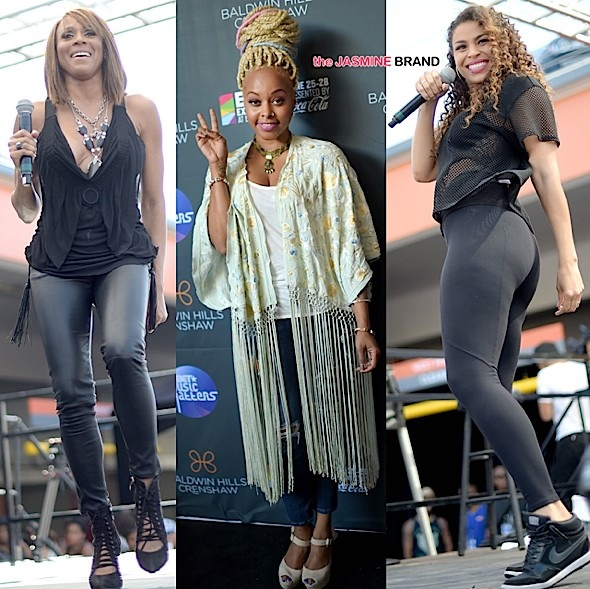 Jordin Sparks, Deborah Cox, Chrisette Michele Perform At BET's Music Matters [Photos]