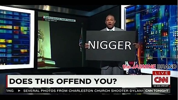 CNN's Don Lemon Criticized For 'N*GGER' Sign [VIDEO]