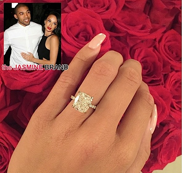 Draya Michele-Orlando Scandrick Engaged-the jasmine brand