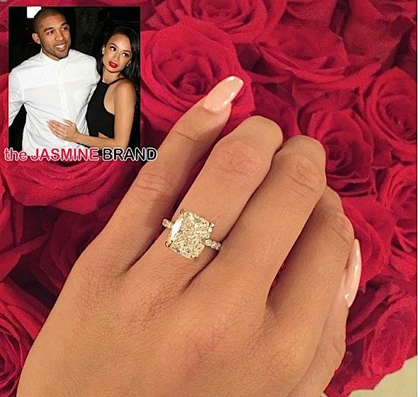 Draya Michele Denies Faking Engagement to Orlando Scandrick: I would NEVER buy my ring.