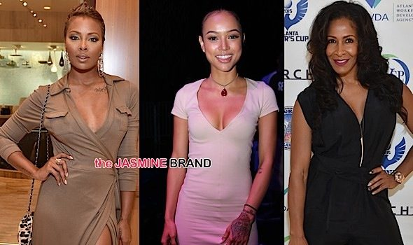 Celebrity Stalking: Eva Marcille, Karrueche Tran, Jodeci, Sheree Whitfield, Lira Galore, Mendeecees Harris, Baron Davis [Photos]