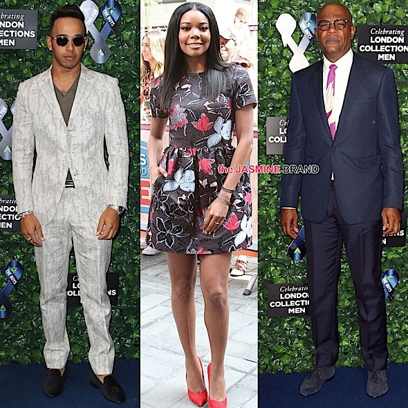 Celebrity Stalking: Gabrielle Union, Lewis Hamilton, Samuel L Jackson, Mary J. Blige, Zendaya, Holly Robinson Peete, Usain Bolt [Photos]