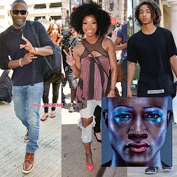 Celebrity Stalking: Taye Diggs, Brandy Norwood, Idris Elba, Jaden Smith, Tyrese, Vin Diesel [Photos]