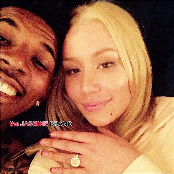 Iggy-Nick Young Engaged-the jasmine brand