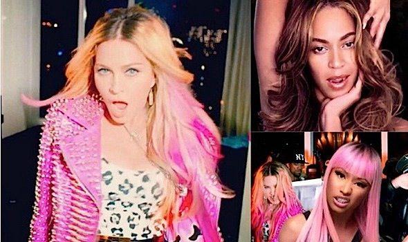 "Madonna Releases New Video, ""B**** I'm Madonna"" Featuring: Beyonce, Nicki Minaj, Katy Perry, Rita Ora & More! [WATCH]"