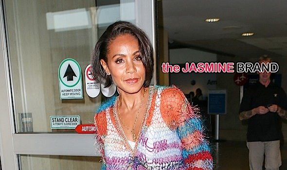 Jada Pinkett-Smith Spotted At LAX + Recalls Fall-Out With 2Pac: He thought I went Hollywood. [Photos]