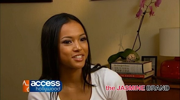 Karrueche Access Hollywood-the jasmine brand