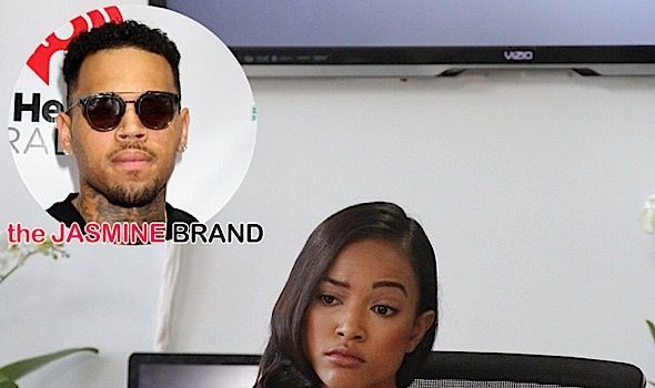 Karrueche Tran & Chris Brown Throw Insults On Instagram: Man the f*ck up! [VIDEO]