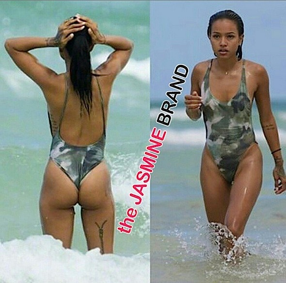 Karrueche Tran-Miami Beach-the jasmine brand