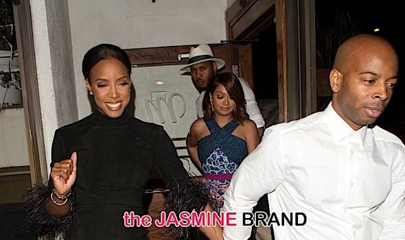 Triple Date Night: Kelly Rowland & Tim Weatherspoon, Ciara & Russell Wilson + Carmelo & Lala Anthony Dine in WeHo [Photos]