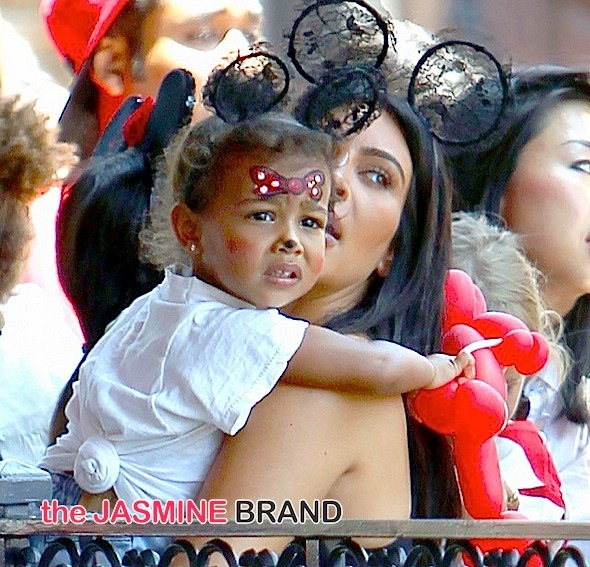 Kim Kardashian-North West 2nd Birthday Disneyland-the jasmine brand