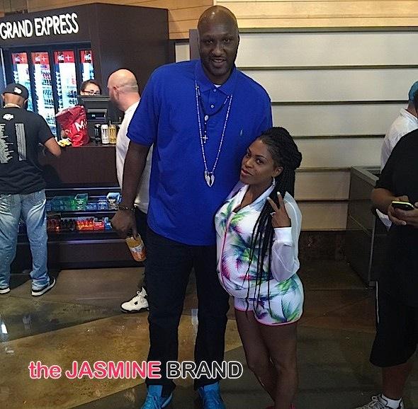Lamar Odom-Lil Mo-Las Vegas-the jasmine brand