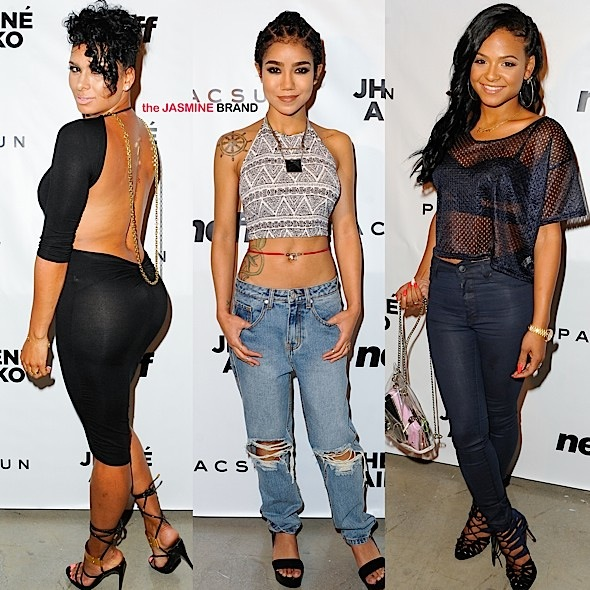 Jhené Aiko Celebrates PacSun Launch: Christina Milian, Lance Gross, Laura Govan, Matt Barnes Attend [Photos]