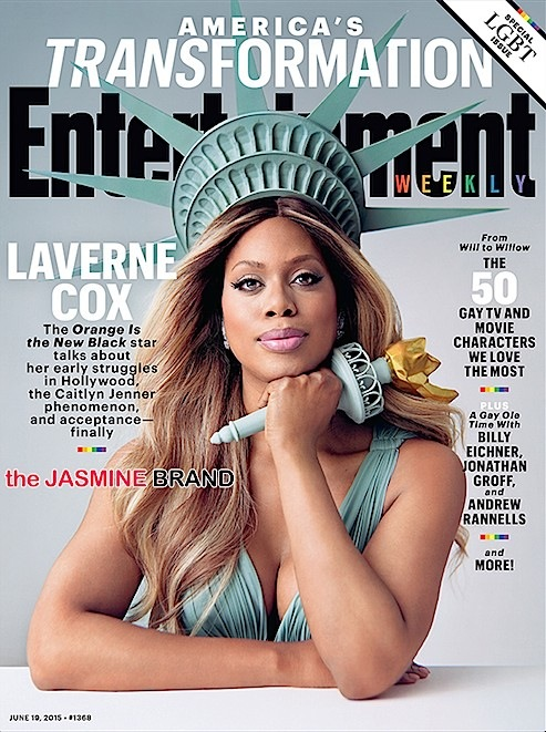 Laverne Cox Covers Entertainment Weekly