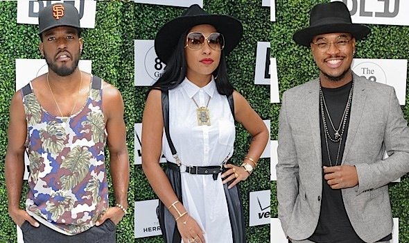 NeYo, Melanie Fiona, Luke James Spotted At 'Leaders of Tomorrow' Brunch [Photos]